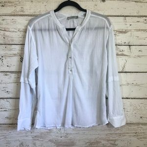 Vince White Lightweight Top